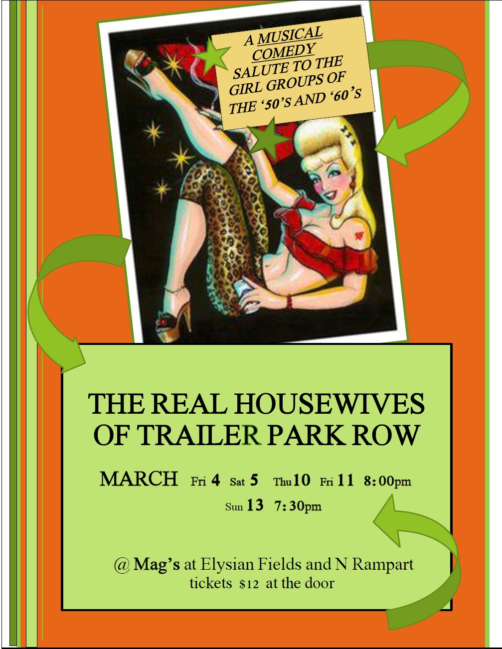 Real Housewives Flyer
